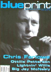 Blues magazine update blueprint the magazine of the british blues connection uk monthly vol 2 issue 30 interviews with legendary 60s soul singer chris farlowe malvernweather Images