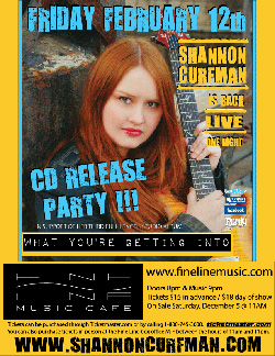 Shannon Curfman CD release2010